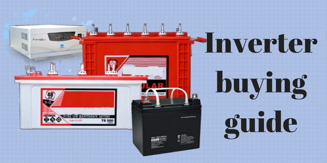 Points to ponder before purchase an inverter